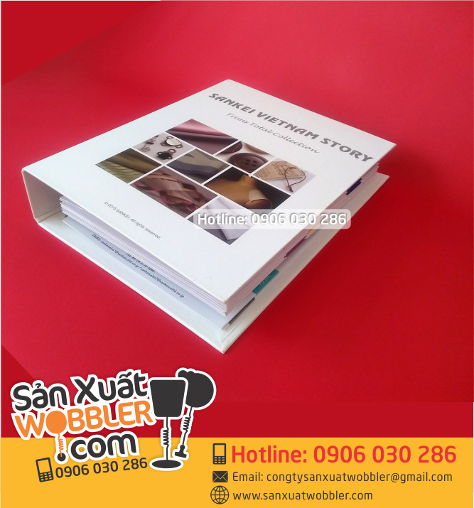 Printing sample book catalogue